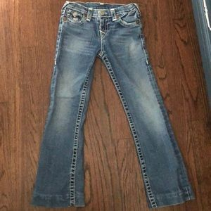 True religion girls jeans Sz 10